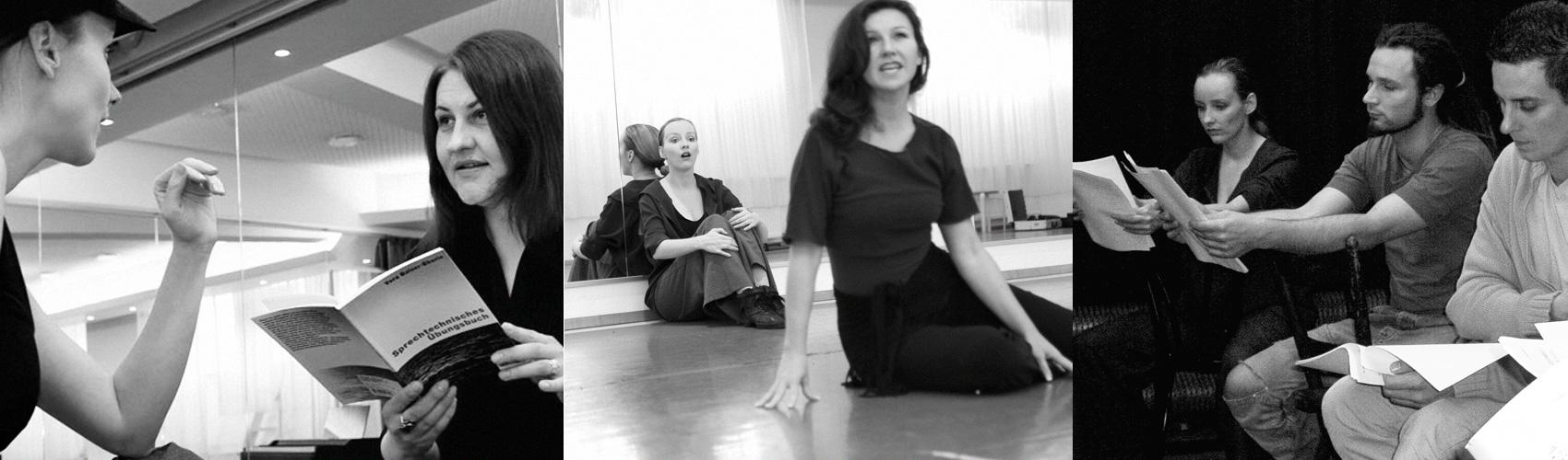 Sprechtraining und Bühnencoaching Anja Hackl