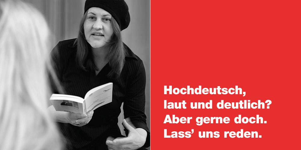 Sprechtraining mit Anja Hackl