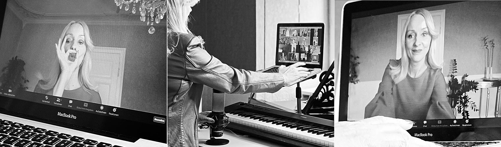 Online Coaching gegen Lampenfieber, für die Stimme, für Sprecher und Sängerinnen und Sänger